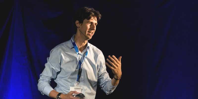 Randall van Poelvoorde, spreker exonentiele technologie